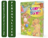 God's Book God's Special Gifts To Me Personalized Name Gift Book God's Blessings Religious Children's Fiction Ages 2 to 8 Create A Book Love