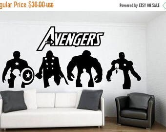 EVERYTHING IS 20% OFF The Avengers Wall Decal