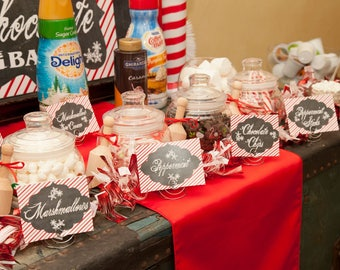 Hot Cocoa Bar Package for diy printing at home