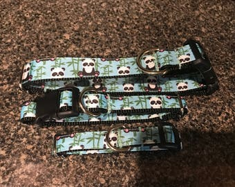 Panda Dog Collar