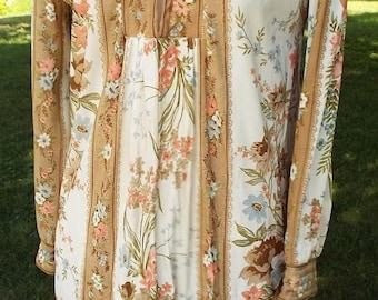 HAPPY SUMMER SALE Beautiful Floral Short Sleeve Dress