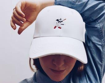 Strike  / Embroidered Dad Cap / Dad hat / Baseball Cap / Baseball Hat / Dad cap / Tumblr Hat / Embroider Hat / Cap / Hat / Pictoman
