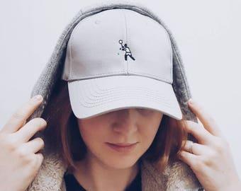 Wimbledon / Embroidered Dad Cap / Dad hat / Baseball Cap / Baseball Hat / Dad cap / Tumblr Hat / Embroider Hat / Cap / Hat /Pictoman/Tennis