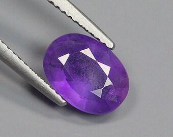 2.15 Ct Natural Brazil Purple AMETHYST