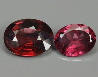 2.14 Ct Natural Africa Purplish Red RHODOLITE GARNET