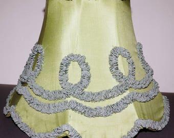 1950s Bedroom Lamp Shade Vintage Retro