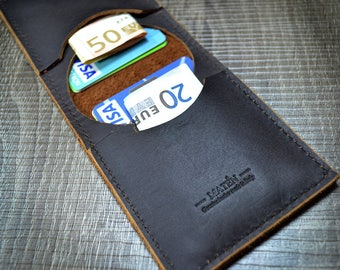 Credit Card Holder | Real leather | Cow Hide leather |