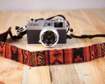 Retro Camera Strap. Vintage Camera Strap.DSLR Camera Strap.