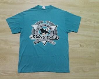 Vintage San Jose Sharks T-Shirt NHL