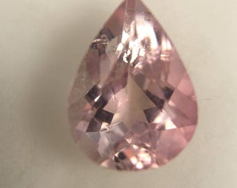 1.53ct Light Pink Pear Shape Tourmaline