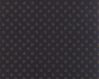Moda Collections Mill 1889 Dark Navy Blue Civil War Reproduction Fabric BTY 46224-20