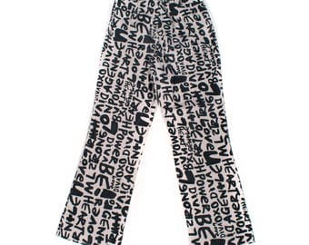 Graphic Trouser