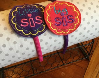 Big Sister/Little Sister Headband