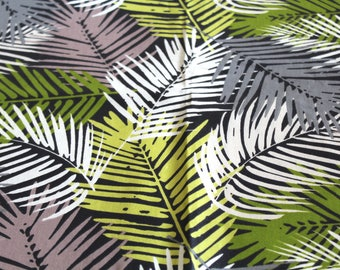 Oilcloth fabric leaves 50 x 70 cm
