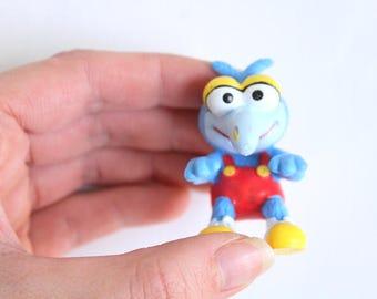 Vintage Gonzo Figurine, Gonzo Figurine, Muppet Babies, Muppet Baby Figurine, The Muppets, Muppet Babies Collectible, Baby Gonzo, Gonzo Toy