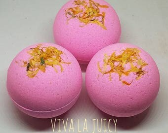 Viva la Juicy Bath Bombs (Butter Melt Center)
