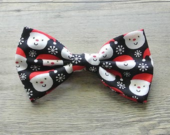 Christmas, Christmas Bow Tie, Santa Claus, Santa Claus Bow, Santa Tie, Red and White, Holiday, Reindeer, Winter, Green Christmas