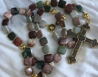 Jasper rosary