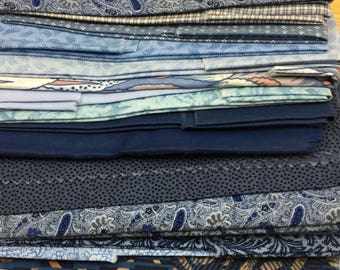 Fabric by the Pound, 100% Cotton, Sold in Color Packs, Designer Fabric, Fabric Scraps, Remnants, Textiles, Quilt Crafts