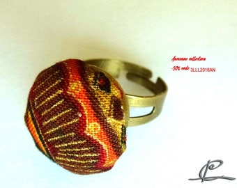 "textile ring ""zoladz"" autumn colors"