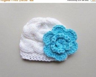 10% DISCOUNT SALE Newborn Baby Girl  Hat_Baby Hat Photo Prop_Knit Baby Girl WinterHat_Knit Toddler Baby Girl Hat