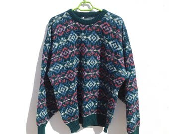Vintage wool sweater made in Italy / Maglione di lana vintage made in Italy
