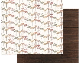 3 Sheets of Photo Play AUTUMN ORCHARD 12x12 Scrapbook Cardstock Paper - Giving