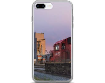 iPhone 7/7 Plus Case - Red Silo Original Art - Canadian Pacific Elevator