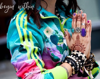 Black and White Bracelets | Stackable Bracelets, Beaded Bracelets | Black and White Jewelry for Women