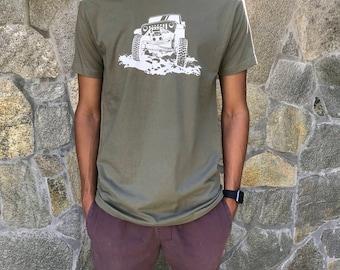 Rock Crawling Jeep Shirt