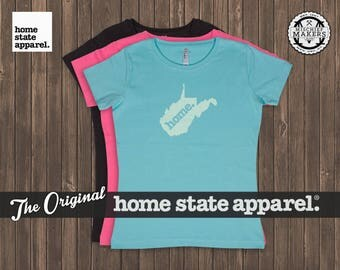 West Virginia Home. T-shirt- Women's Relaxed Fit