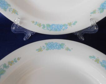 Corelle  Morning Song Flat Rim Soup Bowls