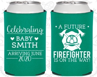 Firefighter Baby Shower, Printed Baby Shower Party, Blue Baby Party, Boy Baby Shower, Welcome Baby Shower (90048)