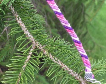 Candy stripe (pink and purple)