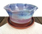 Purple and teal Ceramic P...