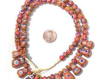 84 Beautiful Mauritanian Kiffa African trade beads