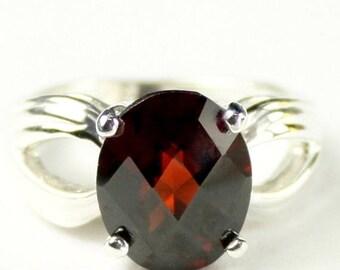 On Sale, 30% Off, Mozambique Garnet, 925 Sterling Silver Ladies Ring, SR361