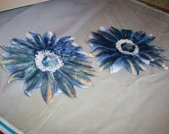 1 ombre antique velvet flower stunning