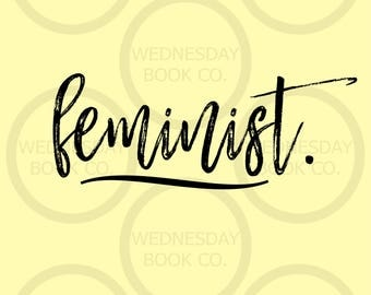 FEMINIST women's rights slogan poster