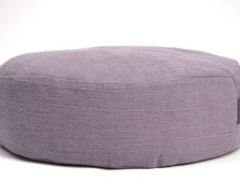 Meditation cushion Buckwheat pillow Zafu pillow Floor cushion Yoga meditation pillow Floor pillow Zafu meditation pillow Purple Violet zafu