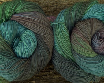 PURE MERINO wool, 200 gms available, hand dyed,  4 ply, fingering, sock, 100 gms, 400 mts, Mollycoddle Yarns, indie dyer