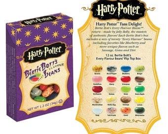 Harry Potter Bertie Bott's Every Flavour Beans 1.2oz 34gr. Jelly Belly