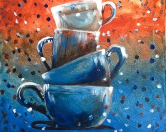 Party Cups Painting