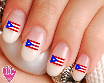 Pregnancy infant loss awareness ribbon mix nail art decal puerto rico flag pride mix nail art decal sticker set flg102 prinsesfo Gallery