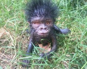 Ooak baby gorilla