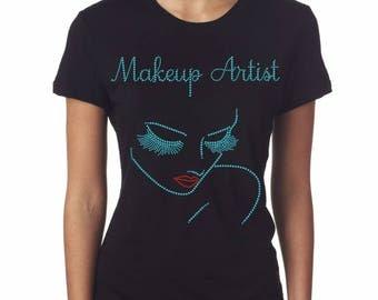 Makeup Artist (Tiffany Blue) Tee
