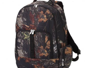 Camo Personalized Backpack