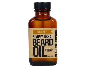 Beard Oil WHISKEY by Simply Great