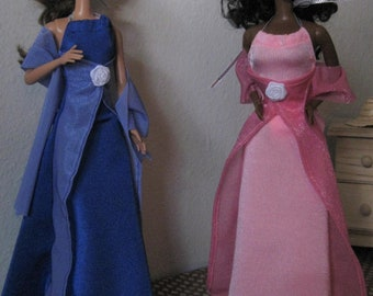 Beautiful gowns for Barbie
