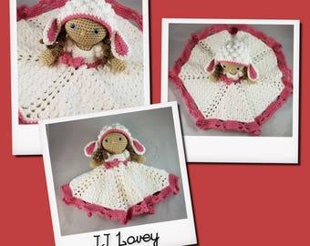 JJ Lamb Lovey Crochet Pattern